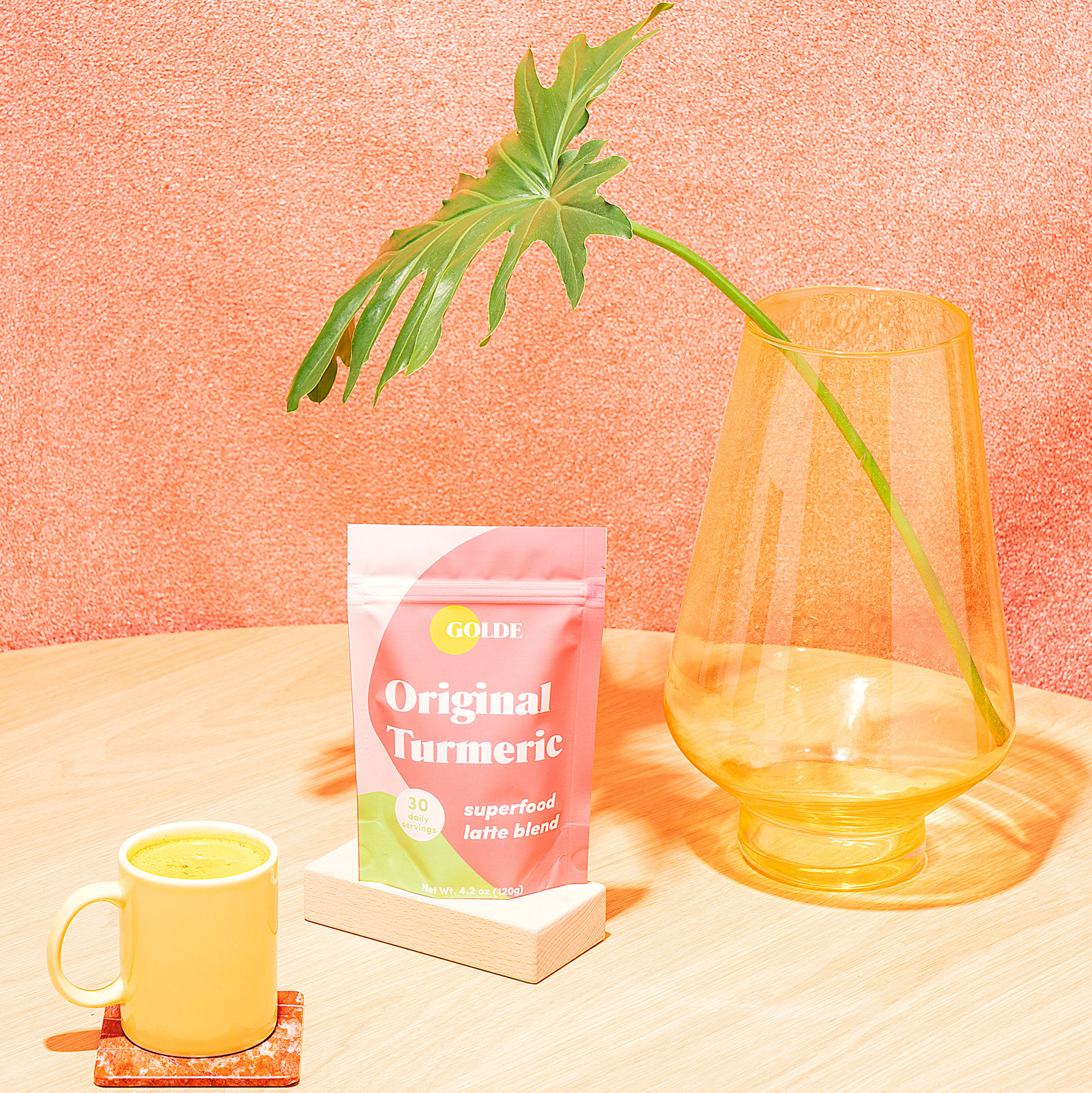 Alternate product image for Original Turmeric Latte Blend shown with the description.