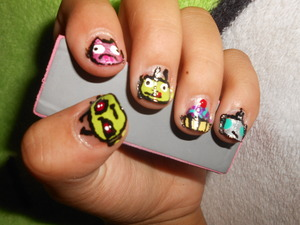 Nails my sister asked me to do :)
