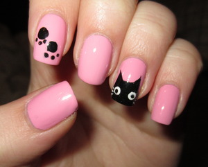 Pretty Kitty nails
