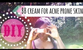 DIY BB Cream for Acne Prone Skin
