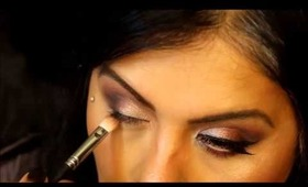 Smokey Burgundy Makeup Tutorial