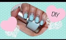 DIY Tiffany Blue Nail Polish (Mixing Colors)