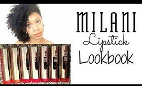 Milani | Mini Lipstick Lookbook