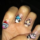 Regular Show Nails