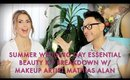 WEDDING DAY ESSENTIAL SUMMER BEAUTY PRODUCT BREAKDOWN VIDEO - mathias4makeup