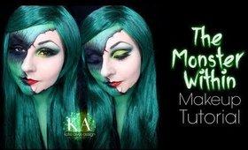 Monster Within Halloween Makeup Tutorial