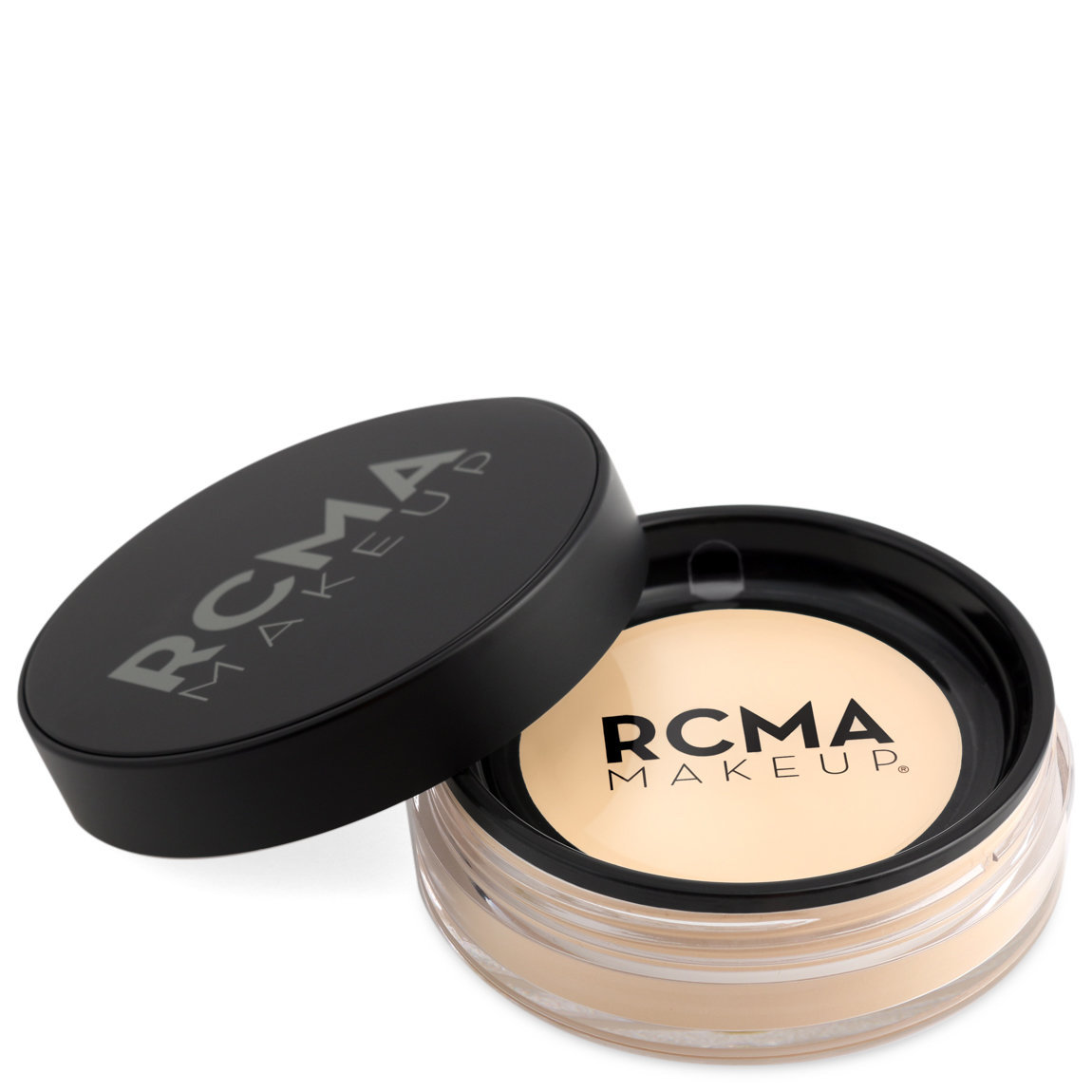 RCMA Makeup Premiere Loose Powder Amber alternative view 1 - product swatch.