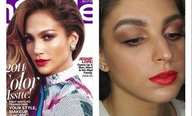 Jennifer Lopez InStyle Magazine April 2014 Makeup Tutorial ♥