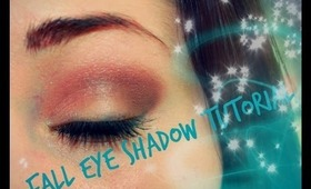 Fall Eye Shadow Routine