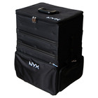 NYX Cosmetics 3-Tier Stackable Makeup Artist Train Case