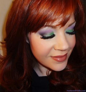 For more information on products used, please visit: http://www.vanityandvodka.com/2013/04/spring-colors.html :-)