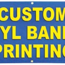 Custom Banner Printing Service - Hanging Banner Stands