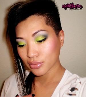 Neon Green FOTD