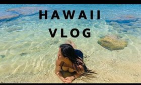 Two Hot Dates in Hawaii Vlog - Waimanalo Beach & Local Food at Ala Moana