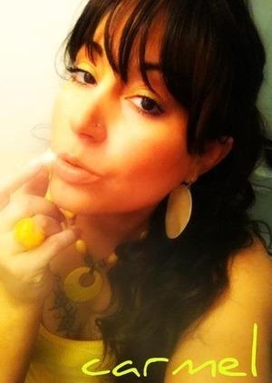Love the yellow eyeshadow
