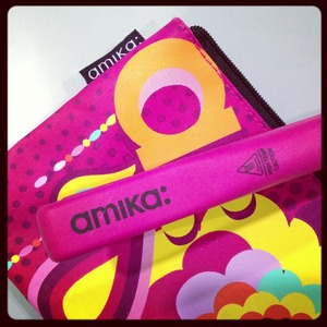 haha! This is the mini Amika flat iron, best for bangs but beware - this little sucker gets HOT!! Hold at the handle ONLY.