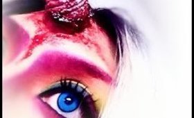 Gory Unicorn Makeup Tutorial