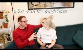 Q&A WITH MY BOYFRIEND | What he thinks about my sex content