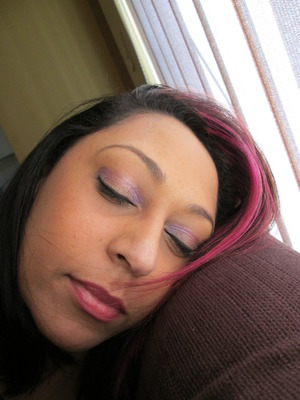 """Having some fun with MAC """"Stars N Rockets"""" and """"Nocturnelle"""".  Really nice shades these :)"""