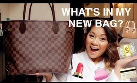 👜What's Inside My Louis Vuitton?! | Excuse the underwear! l mS3riKa