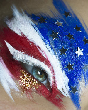 Newest 4th of July inspired makeup