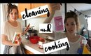 DAY IN THE LIFE OF A HOMEMAKER (VLOG STYLE) | CLEAN AND COOK WITH ME!
