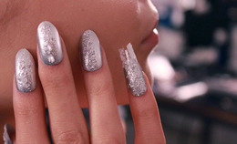 The Splashiest Nail Art of Fashion Week
