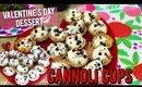 Valentine's Day Dessert- Cannoli Cups  💝