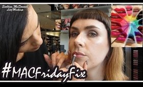 MAC Makeup Appointment #MACFridayFix #MACLiptensity | LetzMakeup