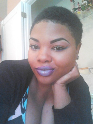 Wearable Ombre Lip in UD's Vice NYX's Fuchsia & Loreal's Sundays by the Seine