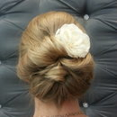 Simple Romatic Updo
