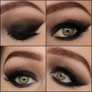 This is my signature clubbing smokey eyes. I also uploaded a pictorial for this look: http://www.beautylish.com/f/qwnxvm/pictorial-sexy-smokey-eyes I hope you like it! My instagram: http://instagram.com/makeupbyeline/