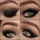 Sexy smokey eye collage