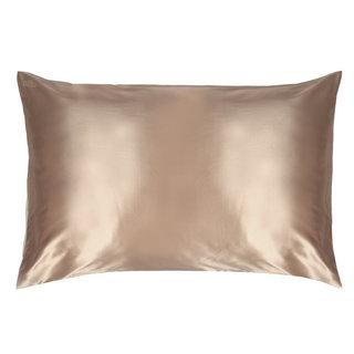 Queen/Standard Silk Pillowcase Caramel