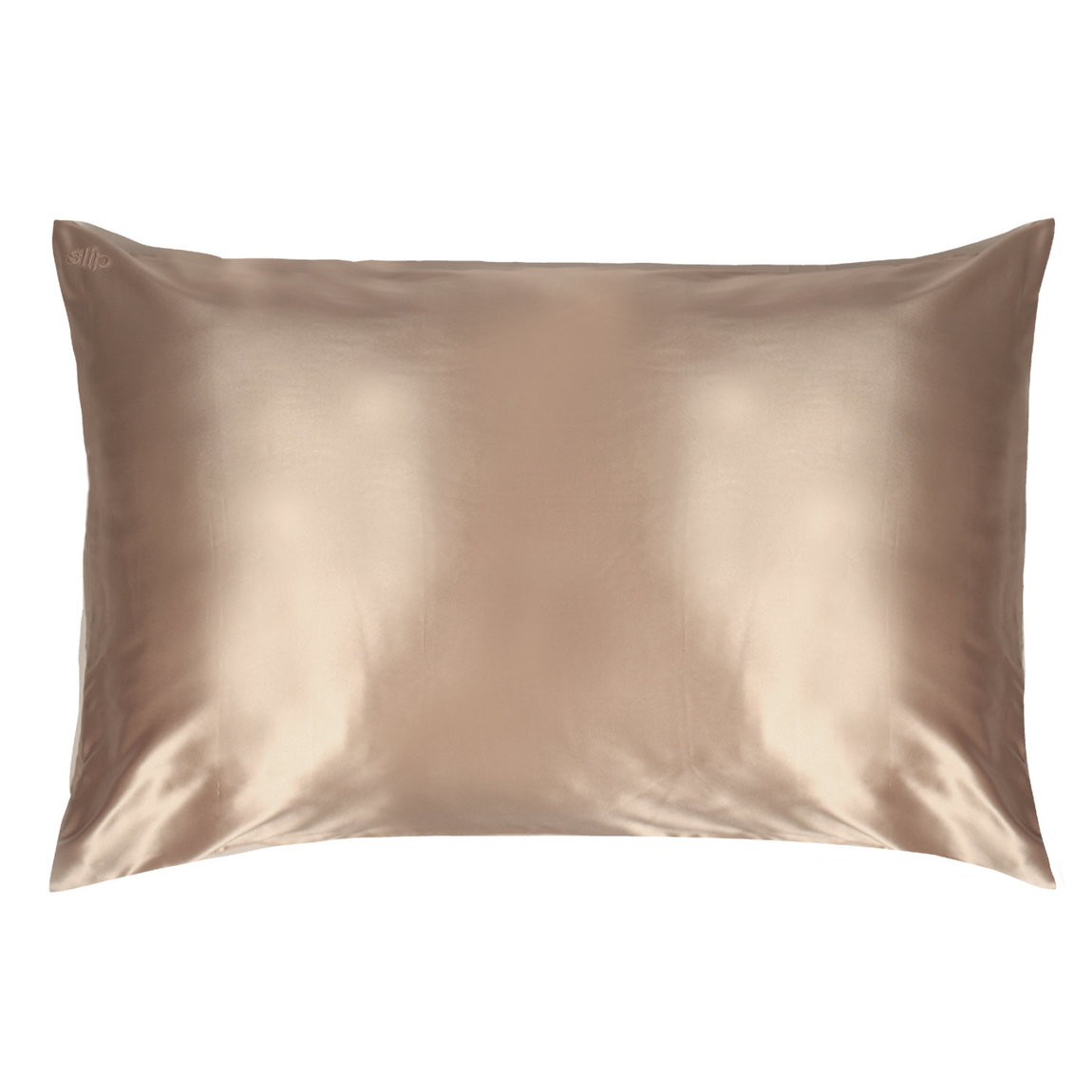 Slip Queen/Standard Silk Pillowcase Caramel product smear.