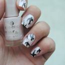 Miu Miu inspired nail art