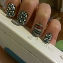 dotted nails!