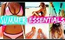SUMMER ESSENTIALS 2015 | Fashion, Beauty & Beach Must Haves