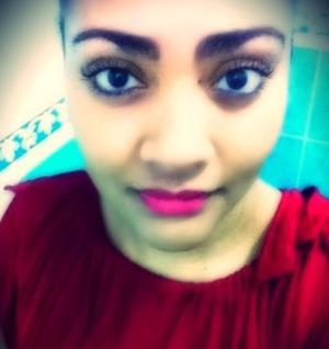 Beautiful sister, makeup perfect