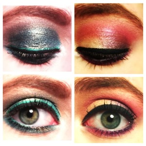 Anti-valentines day, and valentines day looks