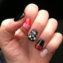 Inspired Christian louboutin nails