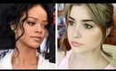 Rihanna Inspired Makeup Tutorial | MTV Movie Awards 2014
