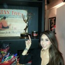 Look!  A real Emmy!