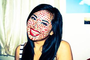 My Halloween make-up! :)