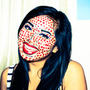 Comic Book Pop Art Make-up