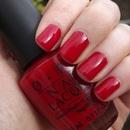 O.P.I - Big Apple Red