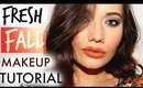 Fresh Fall Makeup Tutorial | SHAE