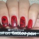 Nail art tattoo pen