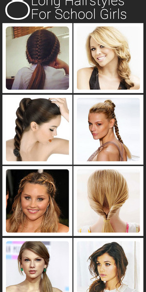 If you have long hair and are getting ready for school, here are some easy and really stylish hair styling ideas. They won't take too much of your time and will be appropriate for school too, while looking fab . So do try and let us know which ones you loved! Read Here:http://www.stylecraze.com/articles/stylish-and-trendy-long-hairstyles-for-schoolgirls/