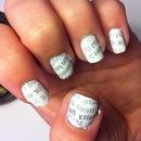 News Paper nails!